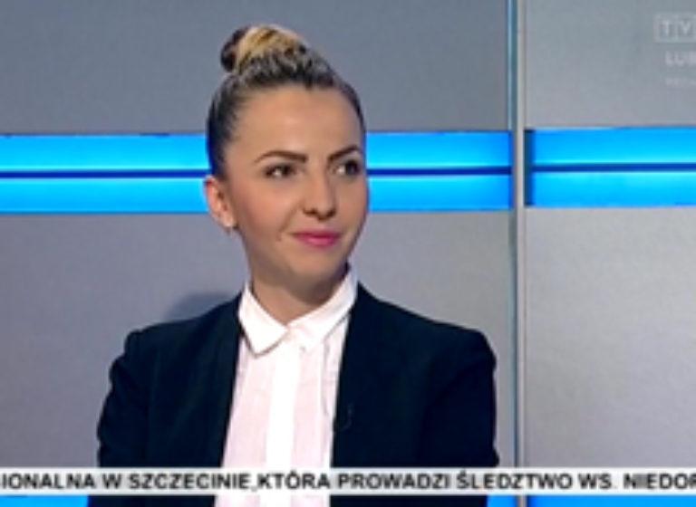 TVP 3 Lublin - wywiad z udziałem Joanny Jędruchniewicz